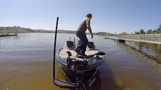 How to launch a Bass boat alone
