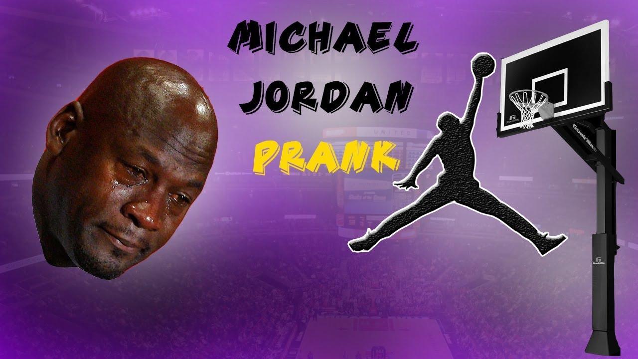 MICHAEL JORDAN prank