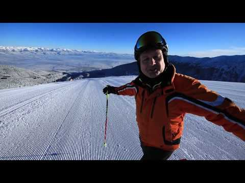 First Run-Bansko Ski Resort 2016