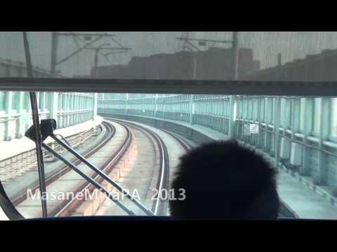 Hangzhou Metro From Linping to Jiubao 1080P HD POV