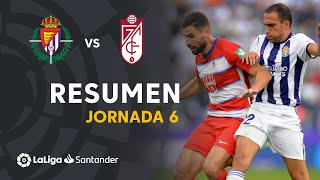 Resumen de Real Valladolid vs Granada CF (1-1)