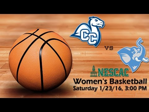 Winter 2016 - Women's Basketball - Tufts Jumbos vs Conn. College Camels