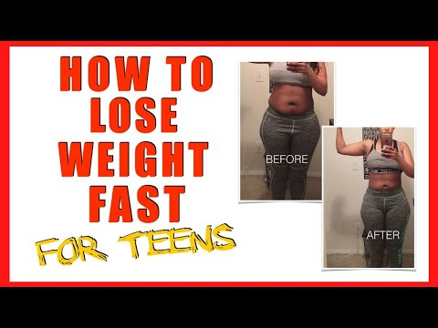 How to Lose Weight As a Teenager At Home