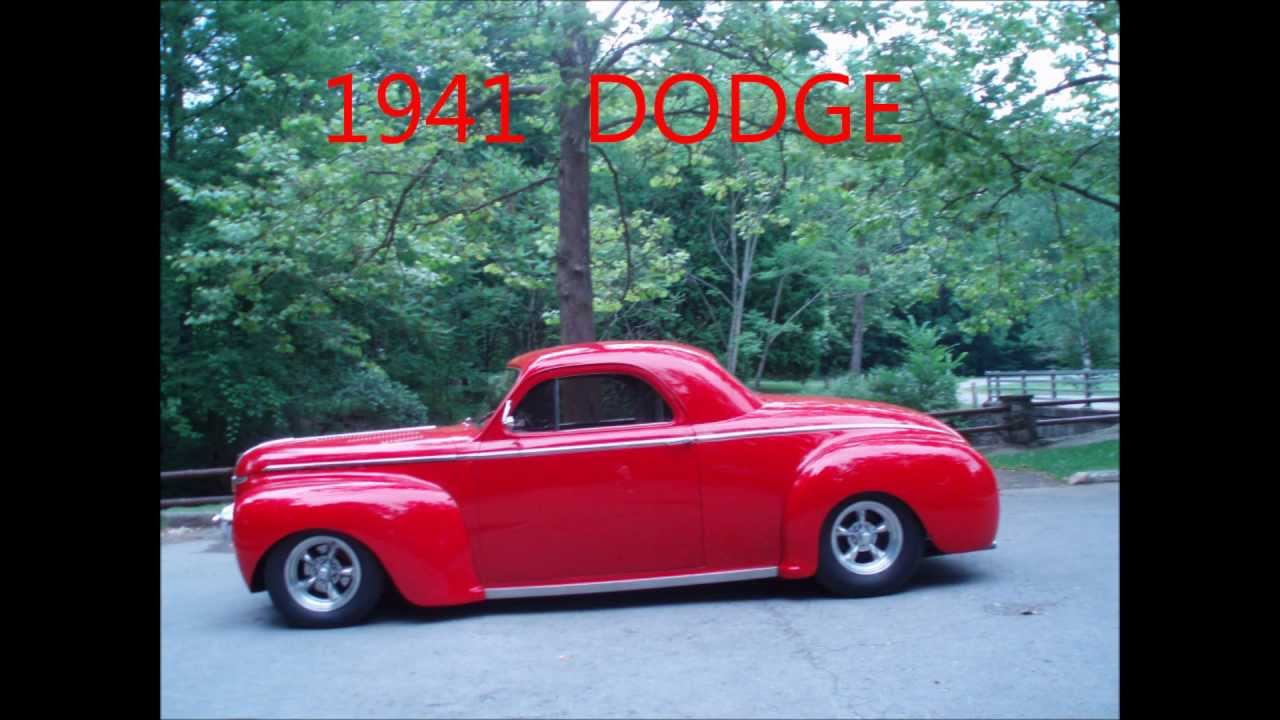 1941 dodge business coupe youtube for 1941 chrysler royal 3 window coupe