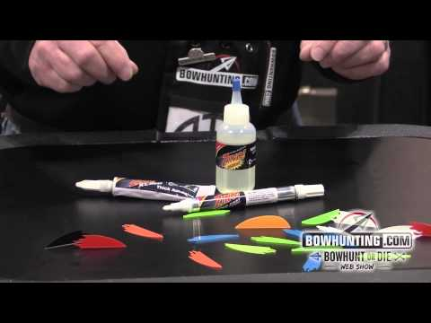 2014 New Bowhunting & Archery gear: Flex Fletch Zing Glue and Primer sytem
