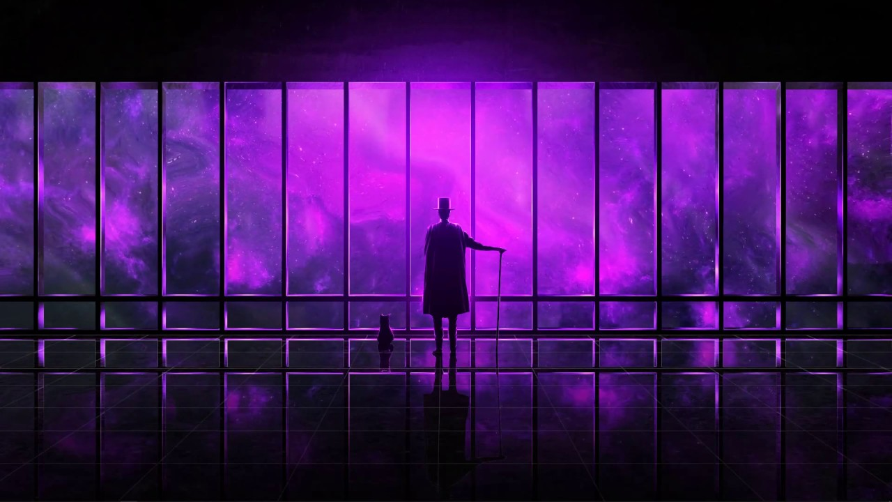 live wallpapers - watching the universe ( purple ) [ 1080p 60