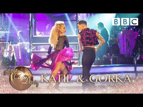 Katie Piper & Gorka Marquez Paso Doble to 'Confident' - BBC Strictly 2018