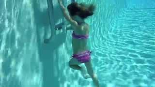 Carla underwater