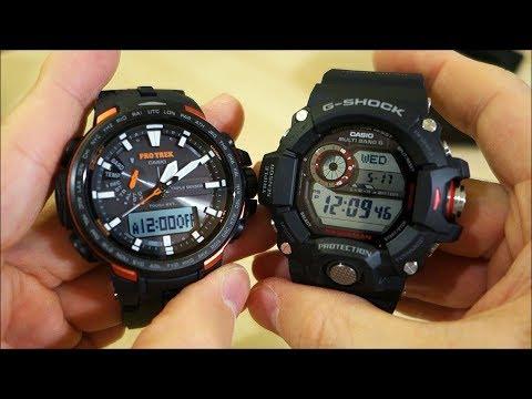 Casio G-Shock GW-9400 Rangeman & Pro Trek PRW-6100 Unboxing! - Perth WAtch Suppl #4