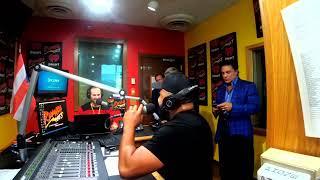 Osvaldo Rios en Rumba 100.3 Orlando 1/3