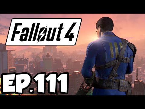 Fallout 4 Ep.111 - CLEARING OUT ECHO LAKE LUMBER!!! (Far Harbor DLC Gameplay)