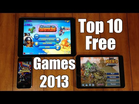Top 10 Best FREE iOS Games for iPhone, iPod, & iPad - 2013