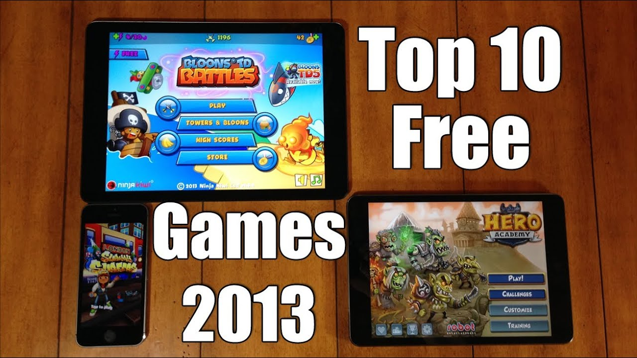 Top 10 Best Free Ios Games For Iphone Ipod Ipad 2013