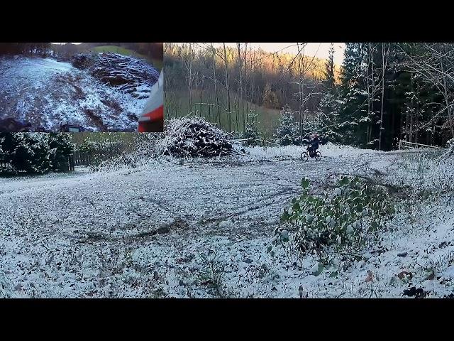 [RAW] Sur Ron 1st snow
