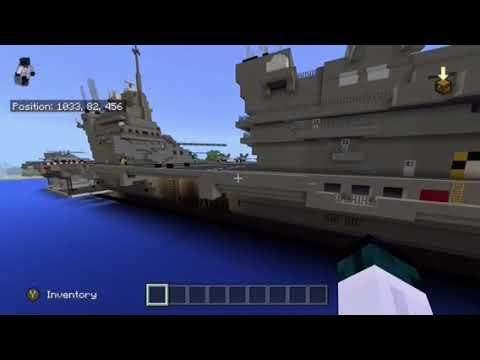 Minecraft HMS QUEEN ELIZABETH AIRCRAFT CARRIER