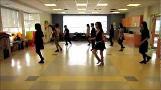 Dance Americano ~ Roz Morgan - line dance (dance & walk through)