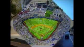 Model Baseball Stadium Cats Stadium