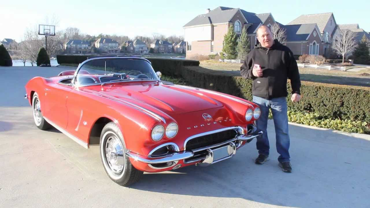 Car Sale Contract >> 1962 Chevy Corvette Classic Muscle Car for Sale in MI Vanguard Motor Sales - YouTube