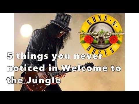 5 Hidden Licks Slash plays in Welcome to the Jungle (Guns n' Roses)! Weekend Wankshop 208