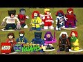 LEGO DC Villains: X-men Character Pack!! (Custom Character Showcase)