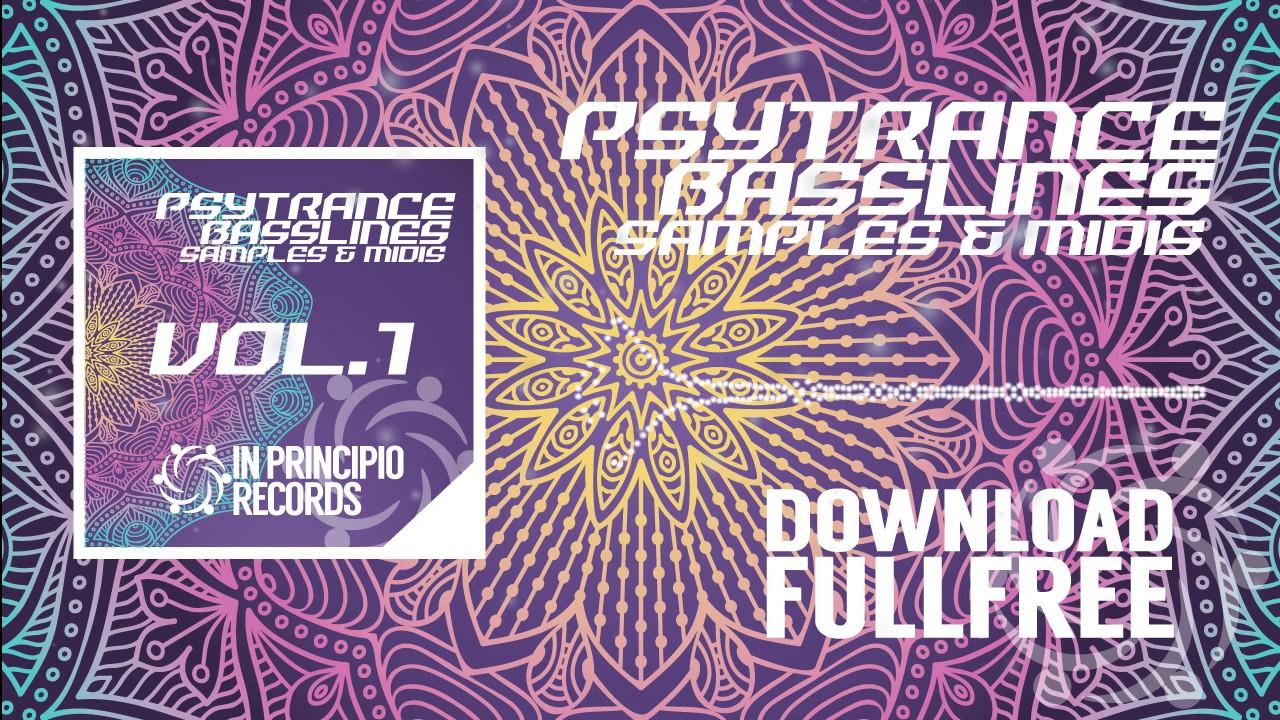 PsyTrance BASSLINE Sample Pack Vol.1Pack for Ableton Live 9, FL ...