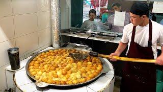 Популярная уличная еда Узбекистана. ГУММА. 1200 штук в день