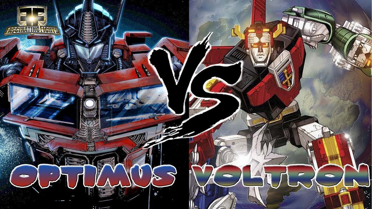 Fascinating Fights Ep 4 Optimus Prime VS Voltron - YouTube