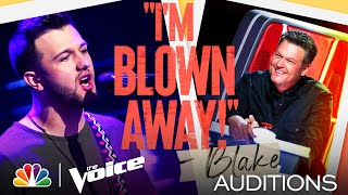 "Connor Christian Rocks on Gary Clark Jr.'s ""Bright Lights"" - The Voice Blind Auditions 2021"