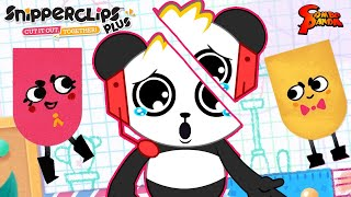 SNIP! SNIP! CUT IT OUT! Let's Play Snipperclips with Combo Panda