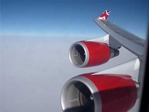 Jumbo 747 - Heavy Turbulence over North Atlantic - YouTube