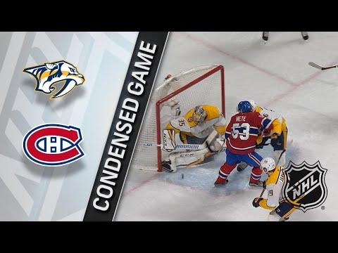02/10/18 Condensed Game: Predators @ Canadiens