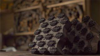 Block Printing - Beautiful design of woodblock stamps for fabric printing