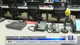 Monroe County awarded $704K for counter-terrorism efforts