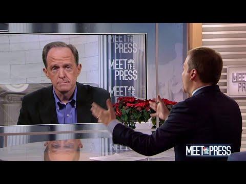 Full Toomey: 'Senators Need To Step Up' After Mattis Resignation | Meet The Press | NBC News