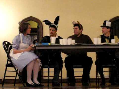 A Mad Tea-Party at Regenstein