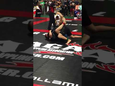 NAGA No Gi Intermediate Light Heavyweight Finals: Austin Morgan vs. David Goldenberg