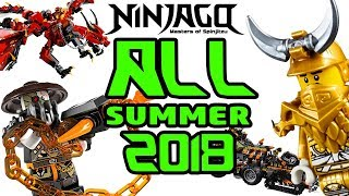 ALL LEGO Ninjago Summer 2018 sets till n...