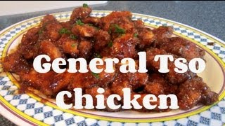 Easy General Tso Chicken ♥