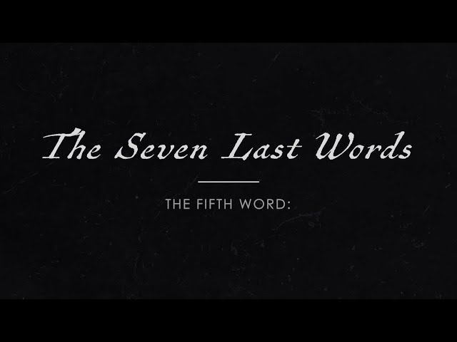 Good Friday: The Last Seven Words