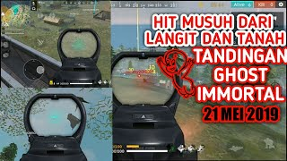 Tandingan Ghost Immortal Bug Drone View - FREE FIRE INDONESIA