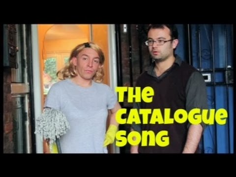 The Catalogue Song - (Don't Spend All your Giro)