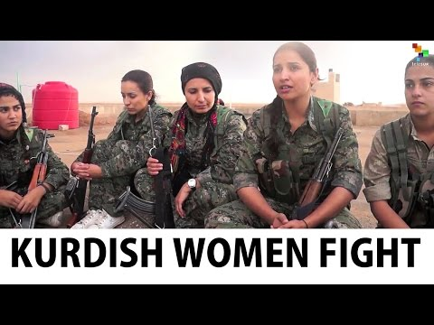 Kurdish Women Take on the Islamic State Group