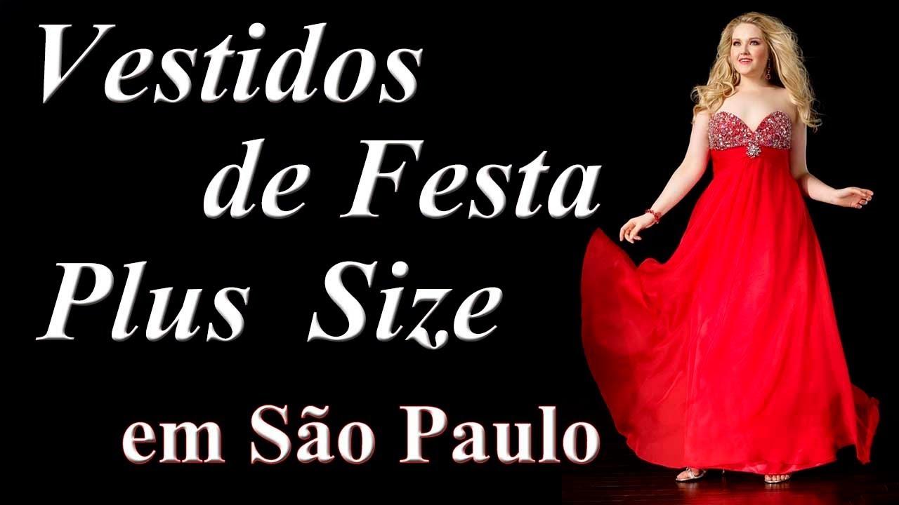 8deed0515 Vestidos Plus Size MARAVILHOSOS da Casa do Vestido Novo na Aclimação S P