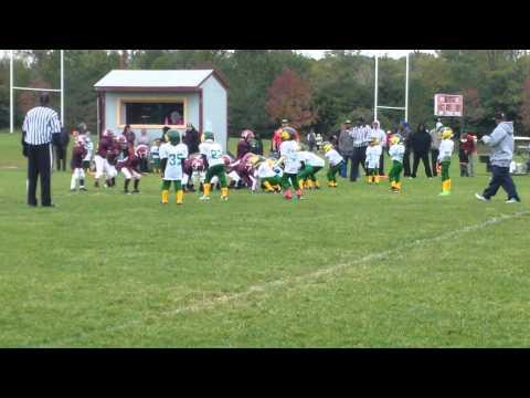 Chris #66 Youth Tackle football 2014