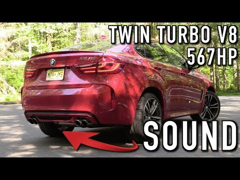Pure Sound: 2018 BMW X6M (Start Up, Revs, Acceleration)
