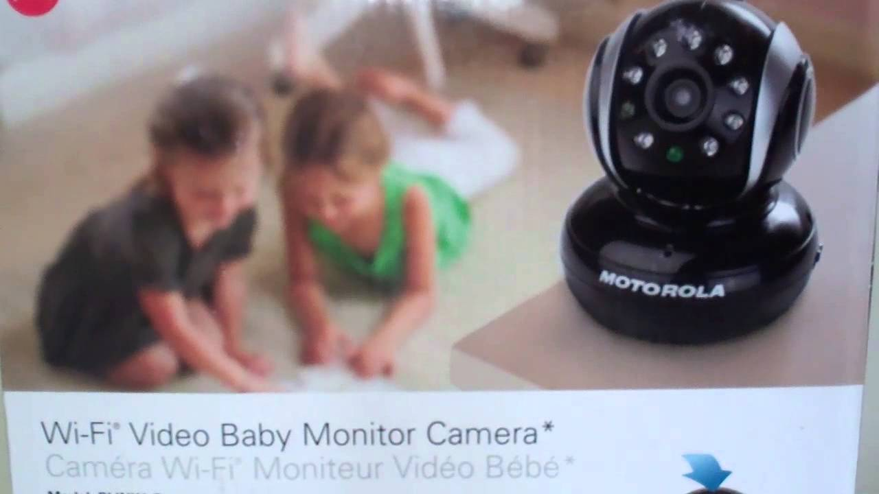 motorola blink1 wifi remote baby video camera for iphones tablets and smartphones youtube. Black Bedroom Furniture Sets. Home Design Ideas