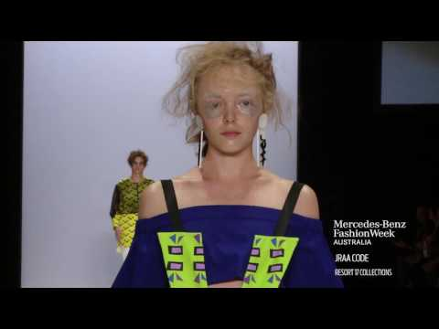 RAFFLES INTERNATIONAL SHOWCASE MERCEDES-BENZ FASHION WEEK AUSTRALIA RESORT 17 COLLECTIONS
