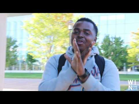 WinTheKidVlog #3 A Day At Morgan State University/THE BLAZING WING CHALLENGE