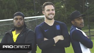 CHUNKZ & YUNG FILLY ft. JACK BUTLAND PART 1 | PENALTY SHOOT OUT CHALLENGE