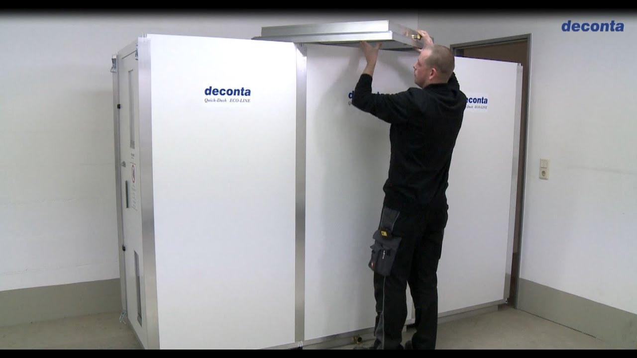 Deconta Personnel Decontamination System Youtube